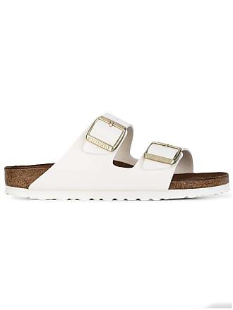 Birkenstock buckled sandals - White