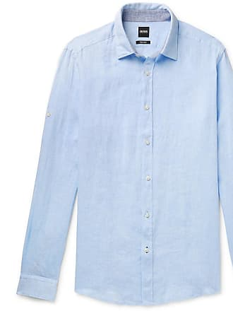 6e1806b9 HUGO BOSS Casual Shirts for Men: 68 Items | Stylight