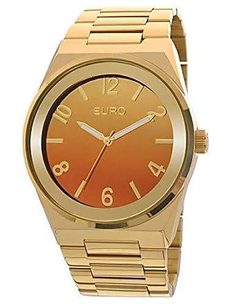 2221738166fe9 Euro Relógio Euro Feminino Premium Eu2035yaf 4l- Dourado