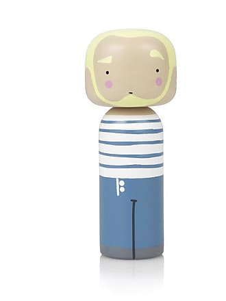Lucie Kaas Figur JEAN PAUL GAULTIER Kokeshi Puppe - wood
