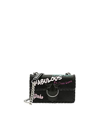 Pinko Black Fabulous Mini Love bag