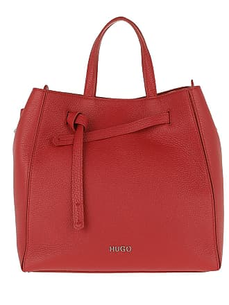 9e688ce812cb4 HUGO BOSS Mayfair Drawstring Shopping Bag Bright Red Tote rot