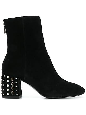 Ash embellished heel Ash boots Noir embellished heel boots TavqTO
