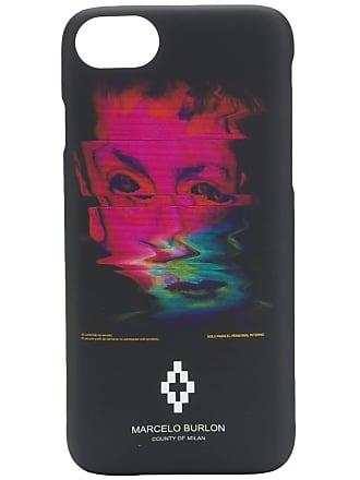 Marcelo Burlon Distortion Iphone 8 case - Preto
