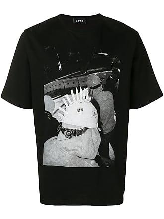U.P.W.W. Camiseta decote careca - Preto