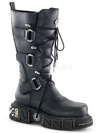 c0f87631421366 Demonia DMA-3005 Blk Vegan Leather UK 8 (EU 41)