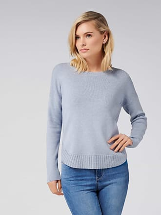 Forever New Lucy Curved Hem Jumper - Swift Sea - xl
