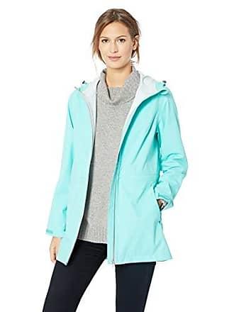 Amazon Essentials Womens Waterproof Rain Jacket, Aqua, X-Large