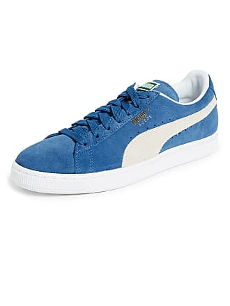 d4d43b0dcf6846 Puma Puma Select Suede Classic Plus Sneakers - Olympian Blue White