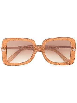 Karen Walker Óculos de sol quadrado Eden - Marrom