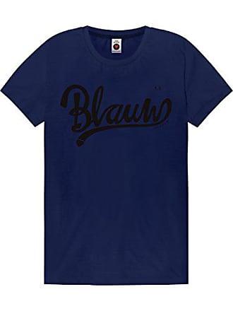 bbf18fac17b22 Scotch & Soda Maison Damen Classic AMS Blauw Artwork Tee T-Shirt, Blau (
