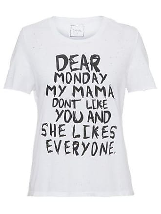 Canal Camiseta Monday Canal - Off white