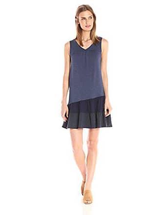 Only Hearts Womens Picnic Club Patchwork Tank Dress, Denim Mix S