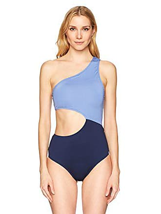cb8a8a48708 Delivery  free. Jessica Simpson Womens Contrast Panel One-Piece Swimsuit
