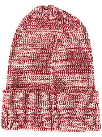 0711 melange beanie - Red