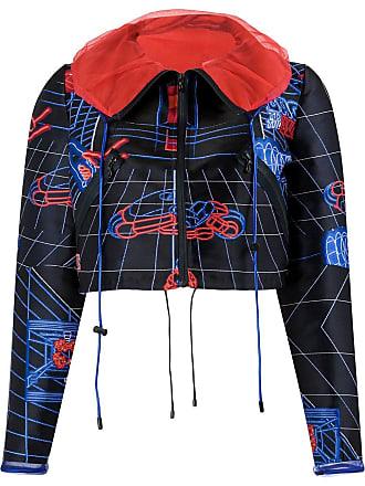 Quetsche spread collar jacket - Black