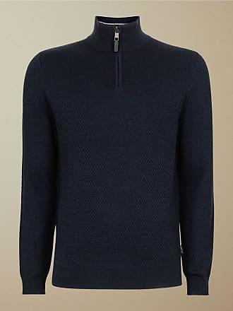 Ted Baker Strukturierter Pullover Mit Stehkragen