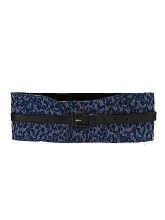Tufi Duek Cinto com fivela estampado - Azul