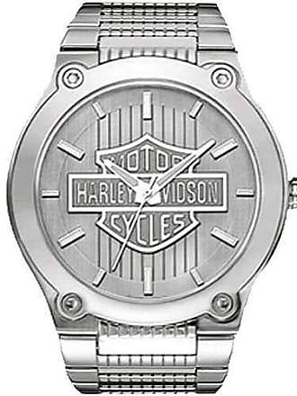 Bulova Relógio Masculino Bulova Harley Davidson WH30091Q Prata