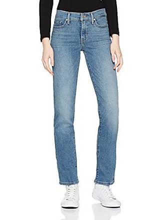 c051019c10dabd Levi's Shaping Straight Jeans, Blu (Indigo Anomaly 0050), W26/L30 Donna