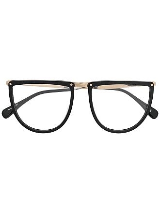 Kaleos Armação de óculos oversized - Preto