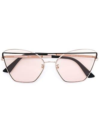 Alexander McQueen Eyewear lunettes de soleil à monture aviateur - Métallisé 132b78af672a