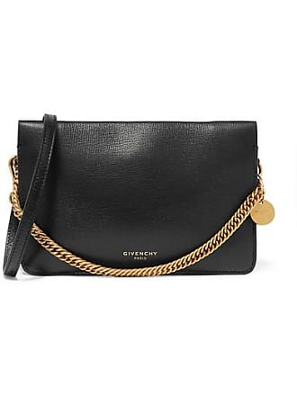 Givenchy Gv Textured-leather And Suede Shoulder Bag - Black 4f843bfde1f80