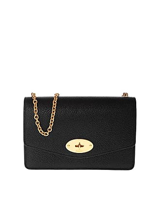 b252f1c507 Mulberry Small Darley shoulder bag in black leather