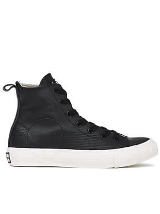 McQ by Alexander McQueen Mcq Alexander Mcqueen Woman Leather High-top Sneakers Black Size 36