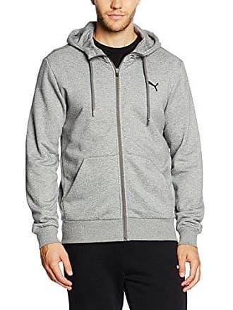 0f976671984 Puma heren pullovers ESS FZ hoody FL, grijs, XL