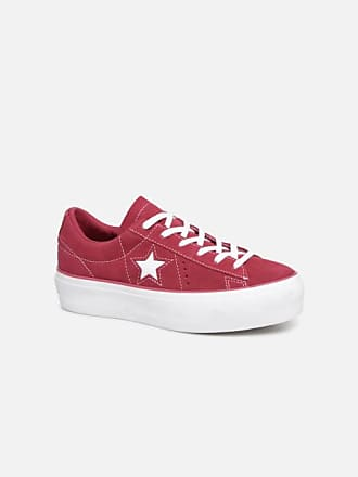 0c16d2dd039 Converse One Star Platform Lift Me Up Ox - Sneakers voor Dames / Bordeaux