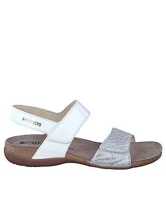 17292eff6 Mephisto Agave Sandals Women with Velcro 7830-12968 White Size  EU 40 ITA 40