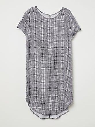 H&M Viscose T-shirt Dress - White