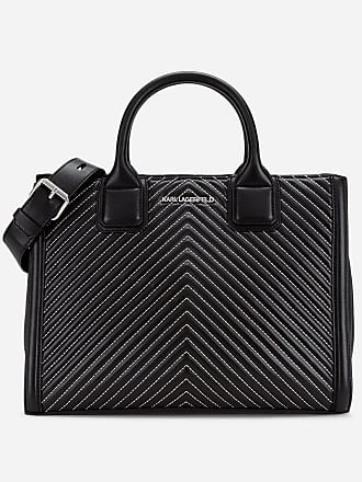 Karl Lagerfeld K/Klassik Quilted Leather Tote Bag