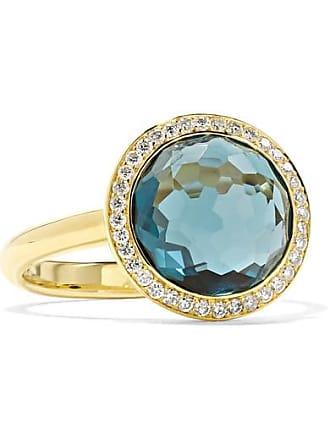 Ippolita Lollipop Mini 18-karat Gold, Topaz And Diamond Ring