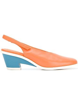 Camper Sapato de couro - Amarelo