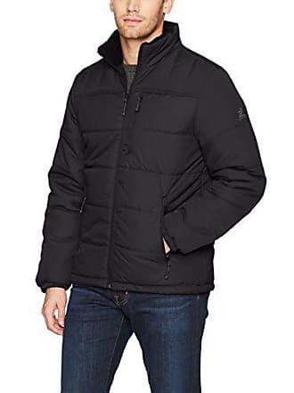 ZeroXposur Mens Flex Quilted Puffer Jacket, Black, XX-Large