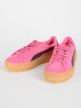35188a73ce1 Puma Leather PLATFORM TRACE Sneakers size 37