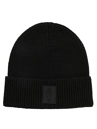 54dd4c4750a81 BOSS Hugo Boss Limited-edition wool beanie hat Jeremyville badge One Size  Black