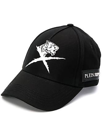 Plein Sport Boné com logo - Preto