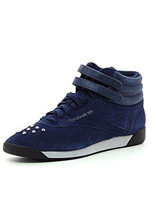 Reebok Classic F S Hi Bling Damen Sneakers, Marineblau, ... 104335ecd6