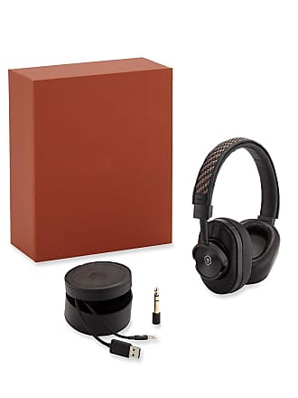 Ermenegildo Zegna x Master & Dynamic Wireless Over-Ear Headphones w/ Pelle Tessuta Trim