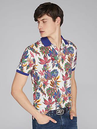 Etro Poloshirt Mit Floralem Motiv, Herren, Weiß, Größe XL