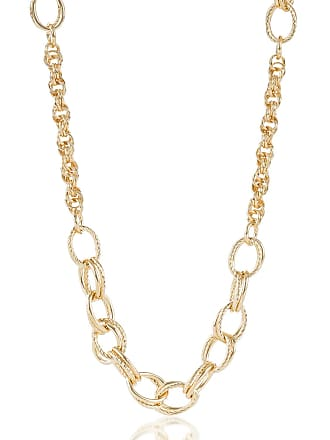 Brahmin Textured/Smooth Station Necklace Light Gold Providence