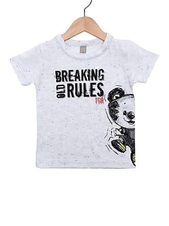 Tigor T. Tigre Camiseta Tigor T. Tigre Manga Curta Menino Cinza