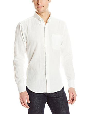 7b1d5839a37 Naked   Famous Denim Mens Regular Shirt in Slub Double Gauze