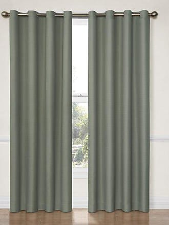Eclipse 12972052063RVB Dane 52-Inch by 63-Inch Grommet Blackout Single Window Curtain Panel, River Blue