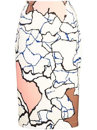 Yigal AzrouËl Terrazzo pencil skirt - Multicolour
