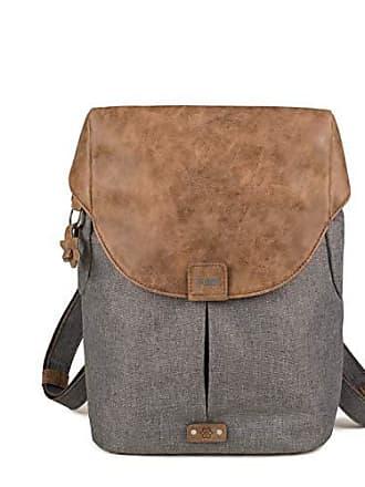 31b72c047931c4 zwei Olli O12 Rucksack Backpack Rucksacktasche Handtasche stone grau