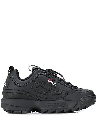 Fila ridged sole sneakers - Black